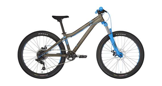 """NS Bikes Clash JR 24"""" dark raw/blue"""